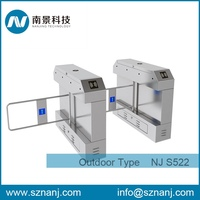 residential entrance single pole manual swing barrier gate