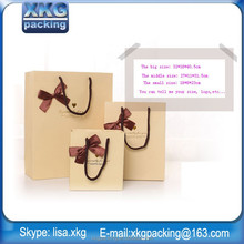 Manufacturer production hot sale low cost paper bag/paper shopping bag