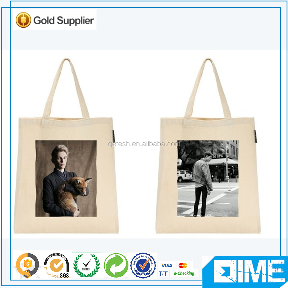 Eco Natural Folding Tote Reusable Shopping Bag