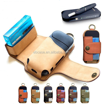 2017 Newest Design IQOS Case,Protective Holder Leather pouch for iQOS Electronic Cigarette