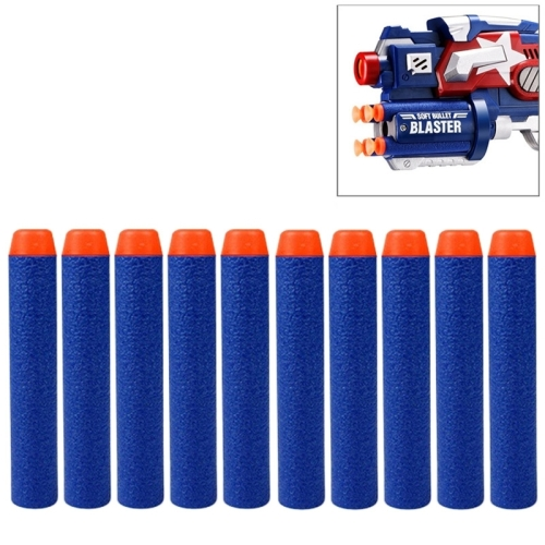 Wholesale price best seller 10 PCS 7.2cm EVA Soft Blaster Darts Bullets(Dark Blue)