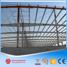 Wholesale Welding Light Structural Steel Construction with Drawing , Prefabricated Workshop Warehouse For Sale