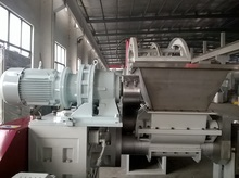 double roller forcing feeding machine