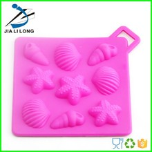 Item Funny silicone mold sea shell shape mould Material 100% food grade silicone, non-toxic, non-stick, eco-friendly Color Colou