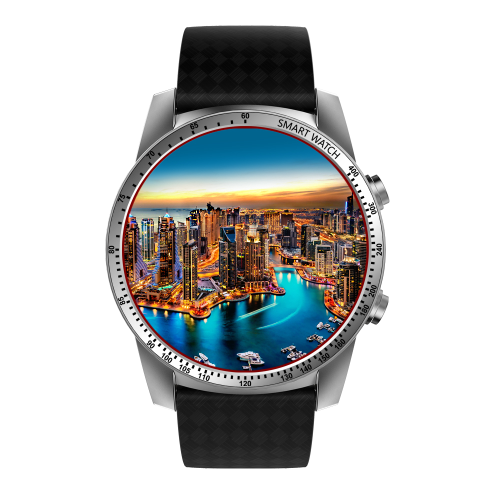Businessman 3G Android Smart watch KW99 with high accurateness heart rate monitor and pedometer
