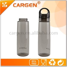 Factory 750ml oem sports plastic drinking water bottle with handle