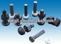 high strength bolt hexagon nut and plain washer for steel structures