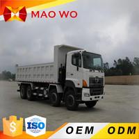 2016 China 8 x 4 Drive hydraulic Guangzhou HINO dump trucks for sale