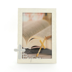 Well designed new style religion cross metal picture photo frame