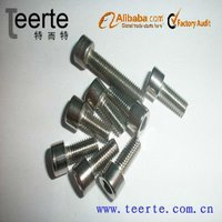 stainless steel hex socket cap screw DIN 912