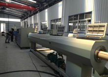 PE PVC corrugated pipe manufacturing unit