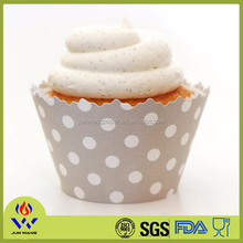 Homemade decoration muffin cake cup mould