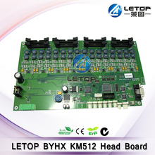 Hotsale!e180s allwin byhx km 512 head board for inkjet printer printing machine spare parts