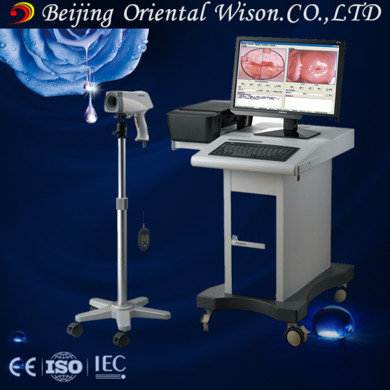 Ultra-clear color screen E Light connect digital video with colposcope