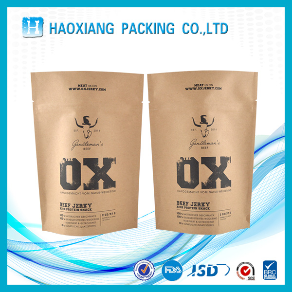 Cosmetic paper packaging paper food grade paper bag