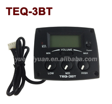 Hot sale 3 Band EQ with Tuner for guitar Equalizier pickup TEQ-3BT