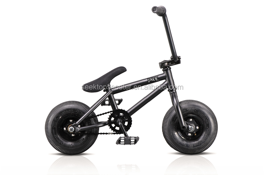 rocker freestyle street stunt mini bmx bike with 10inch wheels/3pcs crank set for sale