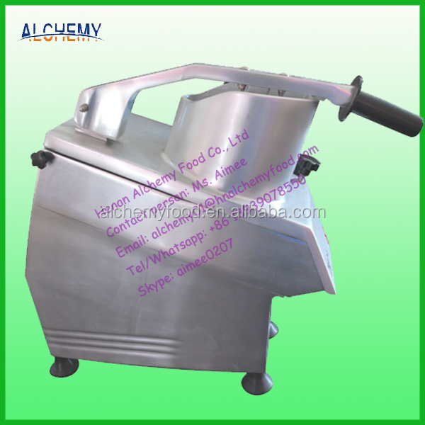commercial potato chips slicing machine