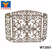 INDOOR METAL FIREPLACE SCREEN