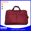 2016 China wholesale trolley travel bag durable laptop brifecase built in wheels leisure duffel bag