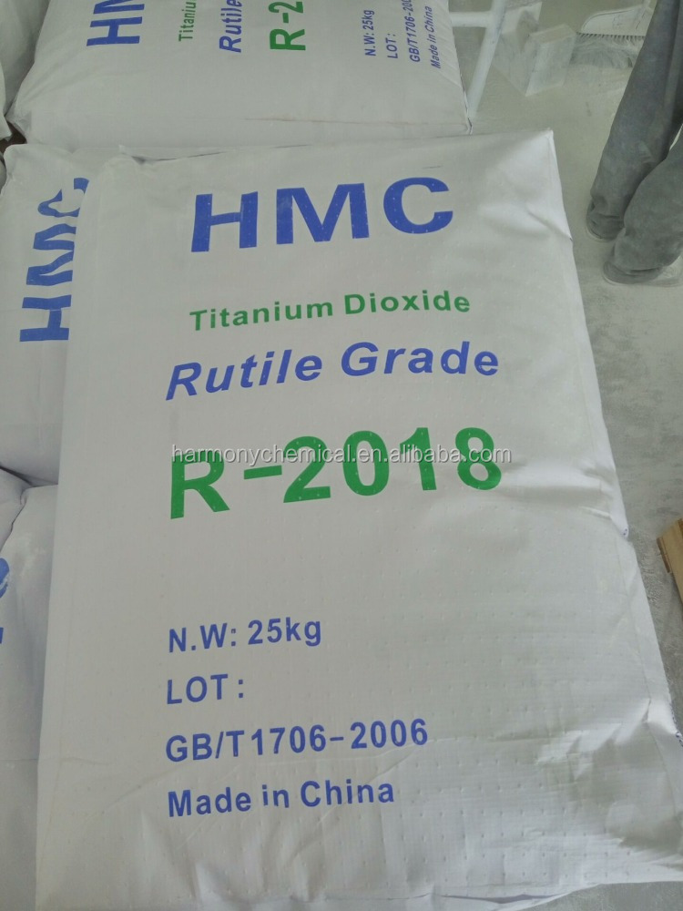 Tio2 Rutile R-2018 for Industrial Paints