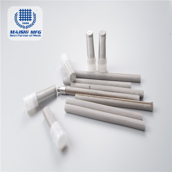 stainless steel wire mesh industrial filter tube