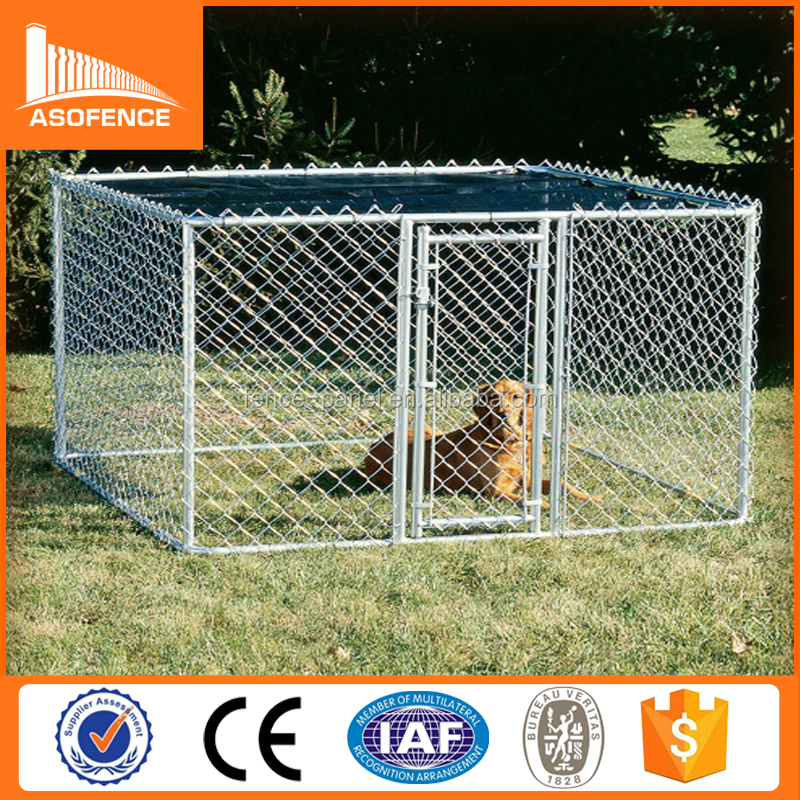 galvanized chain link australia dog kennel fence panels