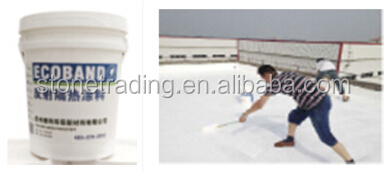 The roof using High quality reflective heat insulation coating