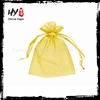 High class pretty and colorful organza gift bag