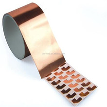 Die Cutting Self Adhesive Conductive Copper Foil Tape With Free Sample