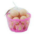 Basket with eggs 16PCS toy