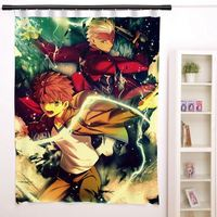 New Fate Stay Night Anime Japanese Window Curtain Door Entrance Room Partition H0095