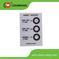 China 4 Level Humidity Indicator Card
