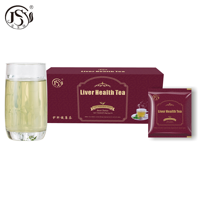 Private label Chinese Nutrition supplement organic liver detox tea