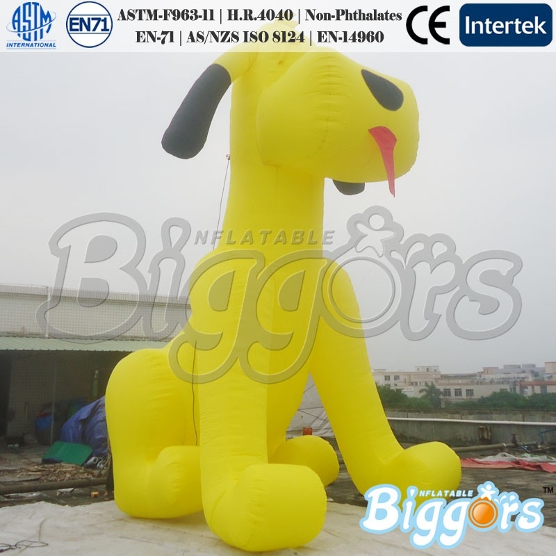 Customized Inflatable Advertising Animal Dog for Promotion