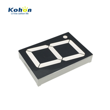 KOHON common cathode anode 2.3 inch 1 digit big led display 7 segments
