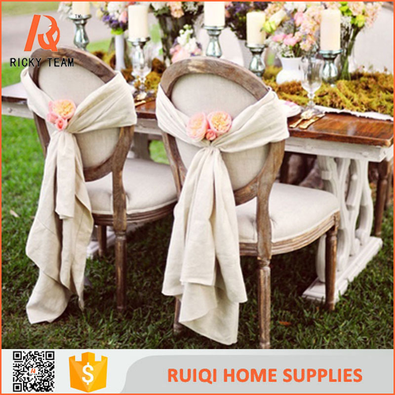Chair cover from china cheap wedding disposable chair cover