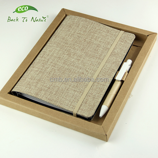 Nature Eco A5 Paper Stationery with Ball Pen Set