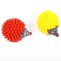 Hight quality products pet toy: rubber hedgehog