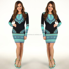 2014 elegant fashion ladies ink horse print summer european fashion dresses for women