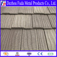 Corrugated Waves Shingle metal roofing tile with stone chips coating