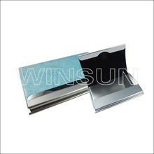 aluminum name card holder with wallet wholesale