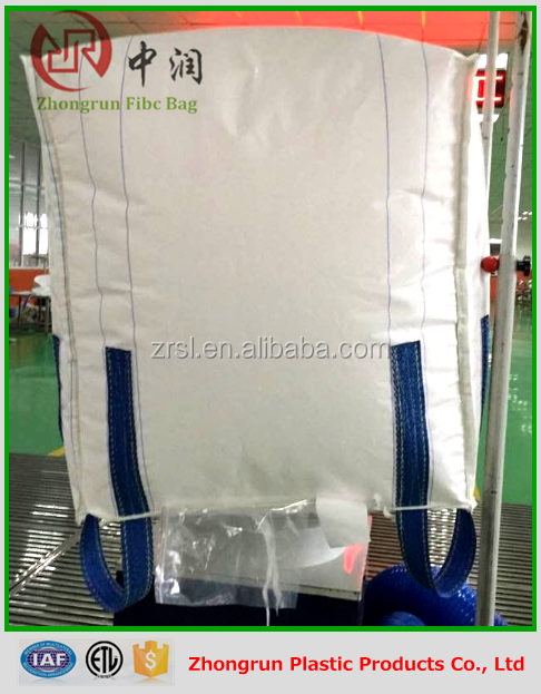 800kg big good pp woven bag FIBC BULK Jumbo Container bag