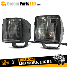 best selling product Philip lumileds 30w offroad LED fog light for jeep wrangler jk accessories