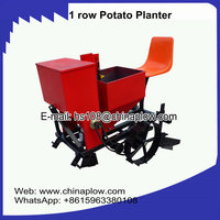 Farm machinery single row potato planter matched for YTO JINMA tractors