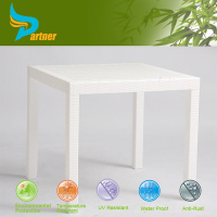 Modern White Outdoor Plastic Table/Small Granite Cheap Hd Designs Dining Tables