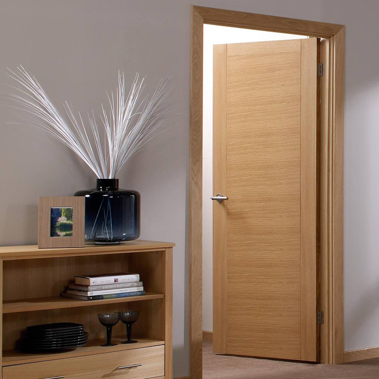 China Alibaba Supply Single Swing Main Entrance Teak Wood Door Designs
