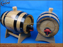 Used Wooden barrel stainless steel Beer Keg for sale