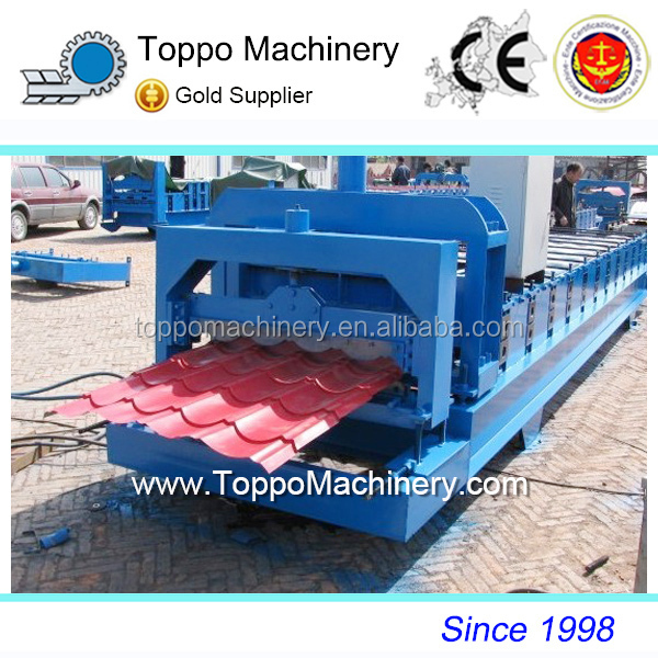High Quality Corrugated Joists Metal Roof Tile Roll Forming Machine With Best Price