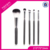 OEM Professional 5pcs High Quality Nylon Hair Makeup Brush Set For beauty
